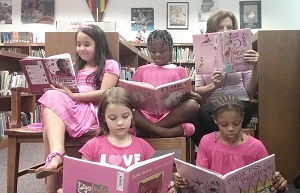 Library Pink Day